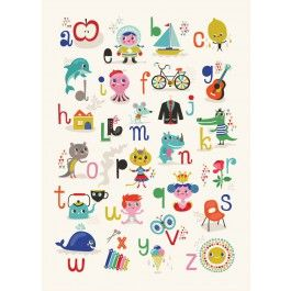 Helen Dardik poster ABC 50 x 70 cm