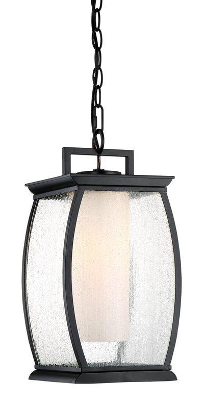 Buntin 1-Light Outdoor Hanging Lantern