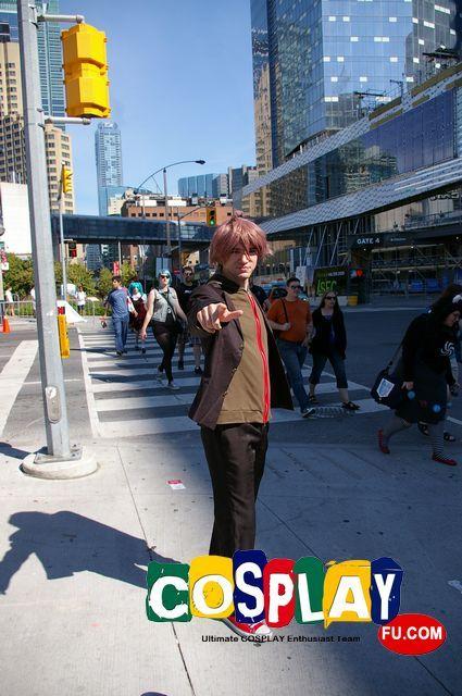 Makoto Naegi Cosplay from Danganronpa: Trigger Happy Havoc at FanExpo Canada