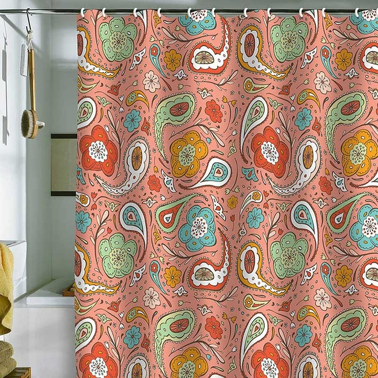 Cute Shower Curtains 103 best bath and shower curtains images on pinterest   home, room