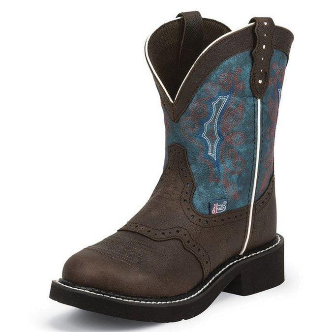 Justin Gypsy Chocolate Buffalo Boots