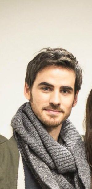 Colin, hook (Thank you to whoever cut out the gal)! You all know you wanted to do the same thing. Lol!