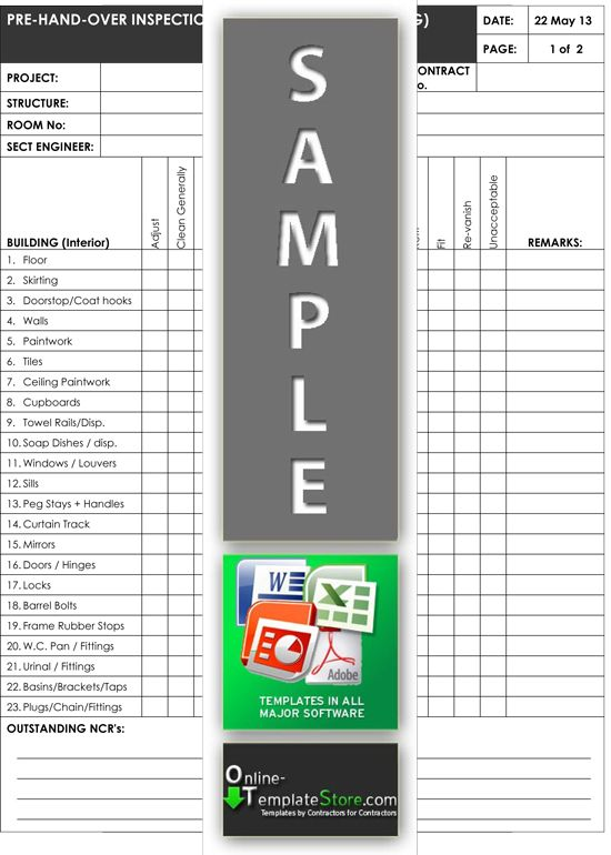 25 best Quality Control Templates images on Pinterest Building - it risk assessment template