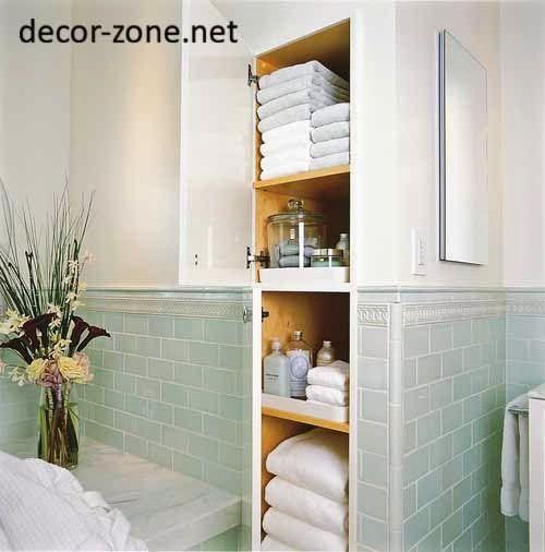 10 ванных комнат идей хранения полотенец для маленьких ванных комнат