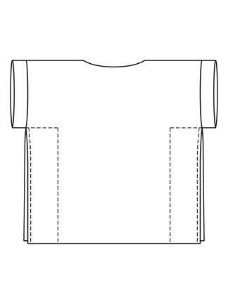 Tunika - Oversize-Look