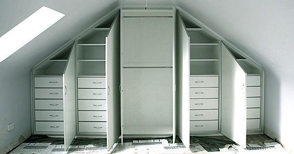 Attic closets