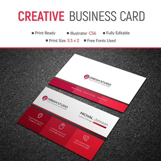 37 best business cards dream studio eg images on pinterest business card template design vector creative modern abstract reheart Choice Image