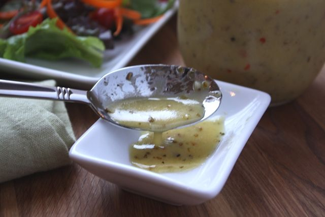 Homemade Italian Salad Dressing recipe by Barefeet In The Kitchen