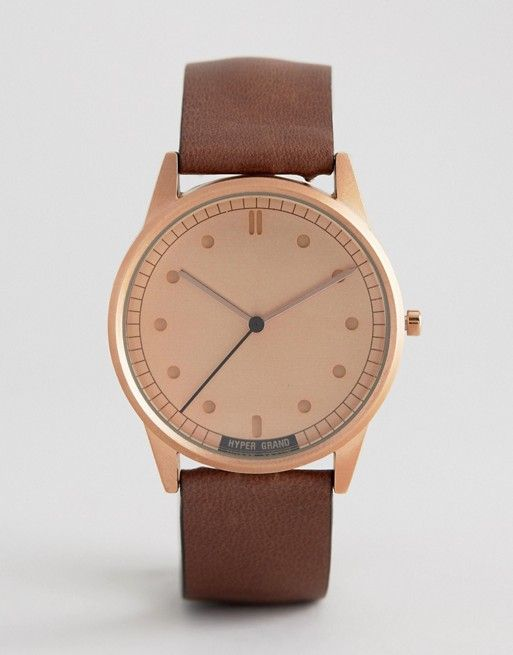 Hypergrand Classic Rose Gold Watch