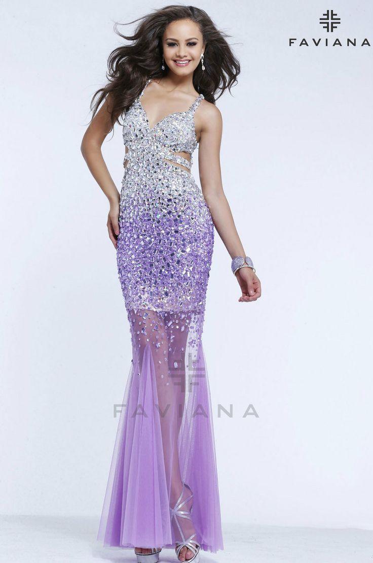 Mejores 101 imágenes de Faviana Prom and Cocktail Dresses en ...