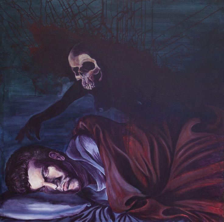 nightmare in art -  Parálisis del sueño, el horror de vivir una pesadilla desp