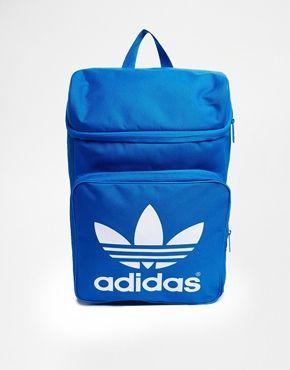 Adidas+Originals+Classic+Backpack+in+Blue