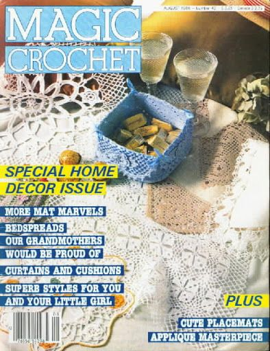 Magic Crochet Nº 43 - Edivana - Álbuns da web do Picasa...FREE MAGAZINE!!
