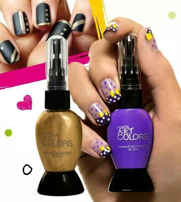 Nails Art Colors Esmalte decorador de uñas. millanelnorte@gmail.com
