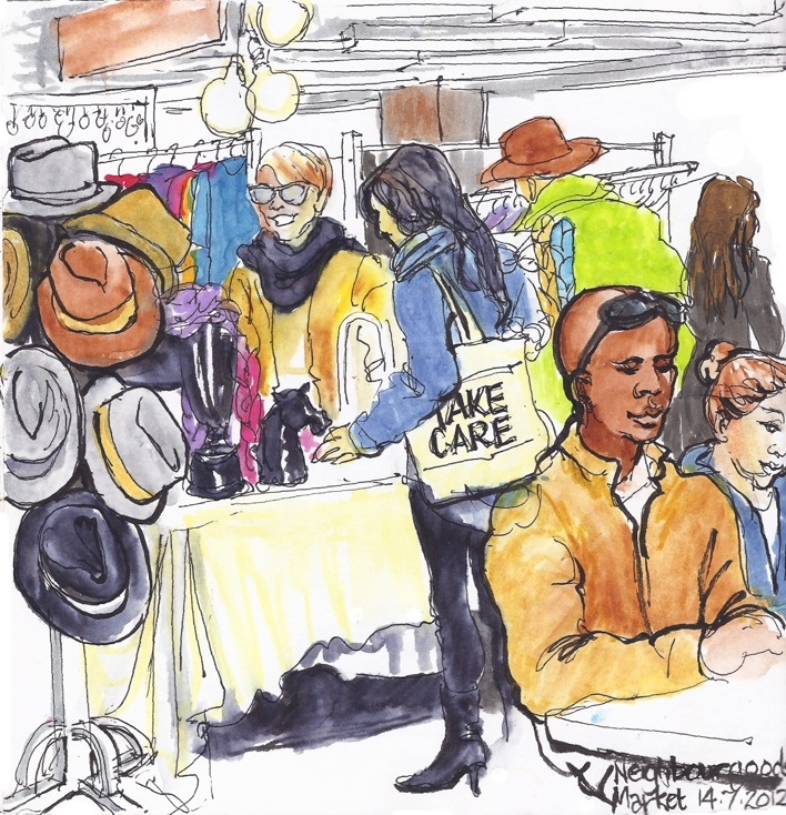 A Sketch in Time - NeighbourGoods Market