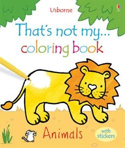 usborne books more thats not my coloring book animals - Usborne Coloring Books
