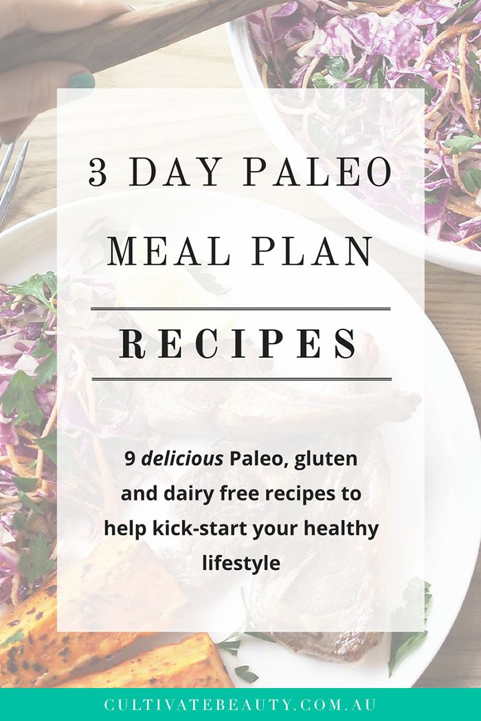 Ever wondered what a full day of paleo meals might look like? ✨ We created a Free 3 Day Paleo Meal plan to show you just how easy (and delicious) eating paleo can be! This is perfect for if you're just new to paleo, or simply looking for some fresh inspiration. Click to download the 3 Day Plan, shopping list + mini recipe ebook!