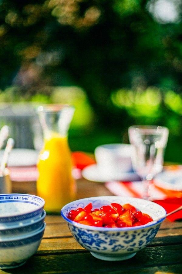 Petit déjeuner au Clos de Mondétour - Chambre d'hôtes en Normandie #weekend #escapade
