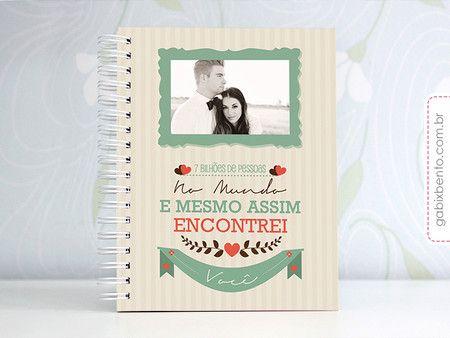 Photobook Encontrei Você - dia dos namorados, namorados, casal, presente, namorada criativa, álbum de fotos, scrapbook