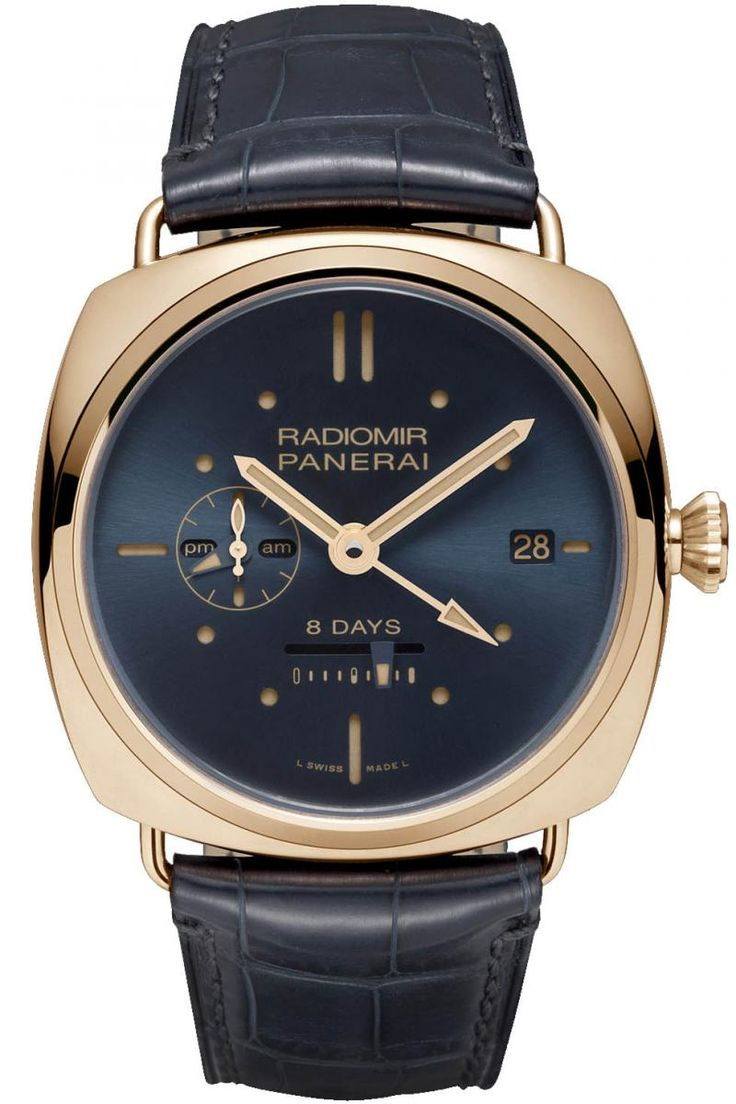 Officine Panerai PAM00538 Special Editions Radiomir 8 Days GMT Oro Rosso 2013. #panerai