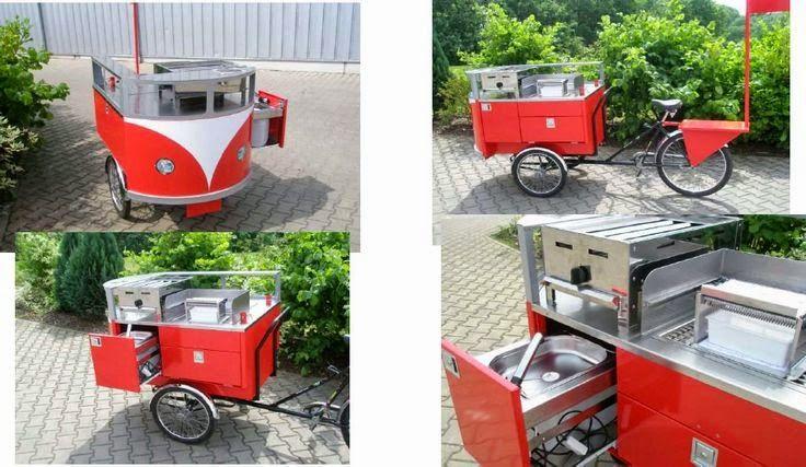 Vender comida na bicicleta: idéias para ganhar dinheiro! - Cozinha do Quintal