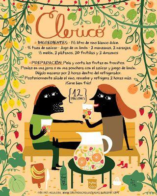 Cositas Ricas Ilustradas por Pati Aguilera: Clericó
