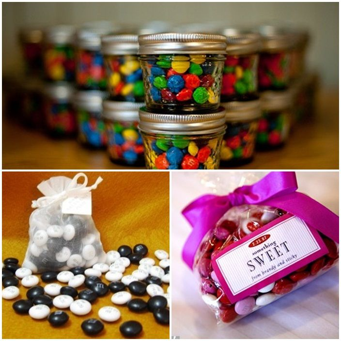 Cheap Wedding Gifts Ideas: 16 Best M&M's In Jars Images On Pinterest