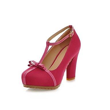 damesschoenen hakken dikke hak pompen schoenen meer kleuren beschikbaar – EUR € 27.26