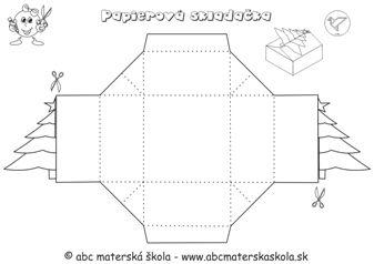 Pracovné listy so vzdelávacej oblasti Človek a svet práce – 2. Konštruovanie - Vianočné krabičky Stromček a Snehuliak