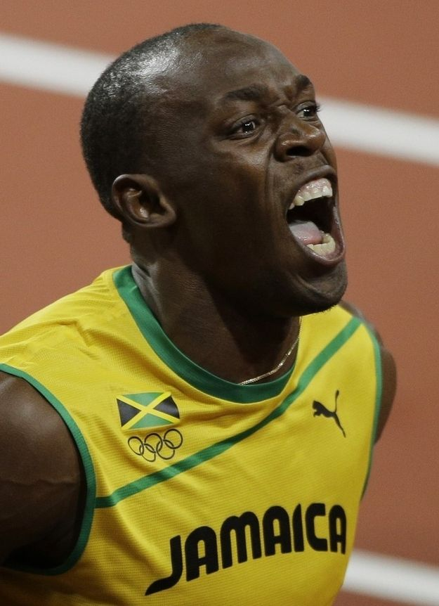 Usain Bolt's Historic, Theatrical 100m Victory In Pictures