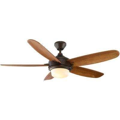 Breezemore 56 in. Indoor Mediterranean Bronze Ceiling Fan