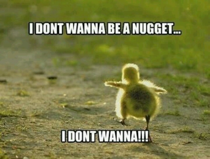Don't worry, ducks don't become nuggets anyway, lol
