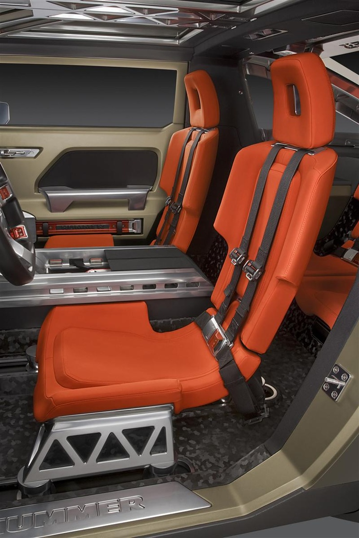 Hummer HX Interior