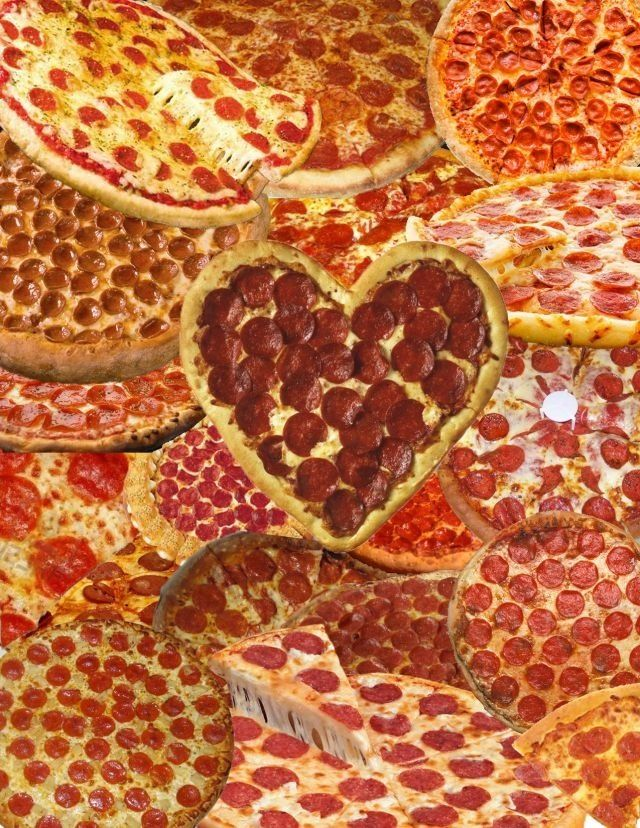 My son loves pizza...lol