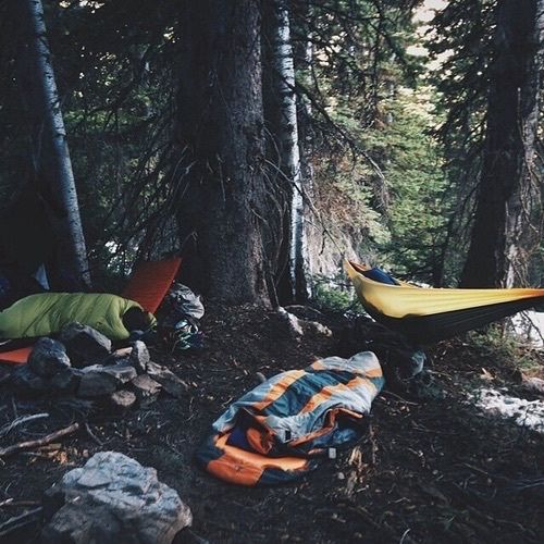 stephanieleana: When you go camping with the friends :P good memories <3