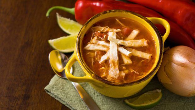 'I love making Mexican food. My most requested dish is chicken tortilla soup.' Eva Longoria tells PARADE in a Walter Scott Asks interview. This soup is served in her Los Angeles restaurant,Beso. To the read PARADE's Walter Scott interview with Eva, click here. Editor's Note: This recipe has been updated with a Cook's Note below. [...]
