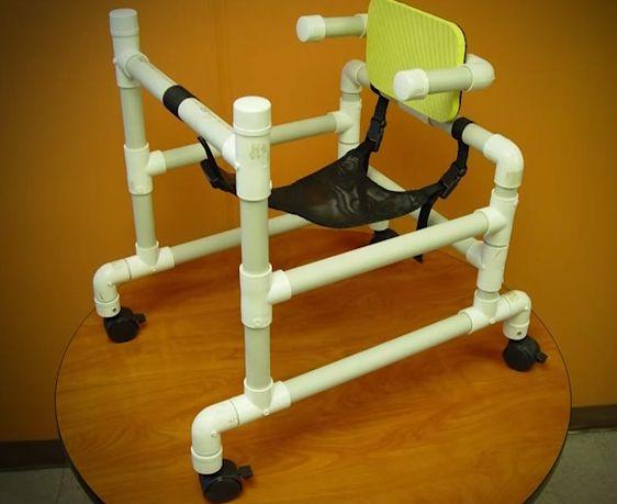 PVC PASSO A PASSO: Andador Pediátrico com tubos de PVC - Porto Rico                                                                                                                                                     Mais