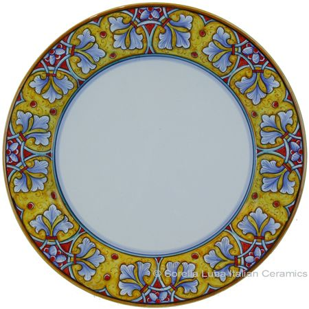 Deruta Italian Charger Plate