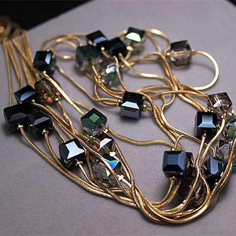 Europe Fashion Crystal Jewelry Accessories