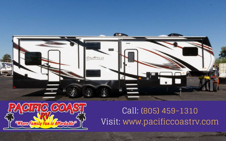 RV dealership selling new and used fifth wheels  We believe in putting you in the most affordable RV for your budget. On behalf of the entire Pacific Coast RV Family, come on by and enjoy a cup of coffee, meet our staff, and take a tour. Call: (805) 459-1310