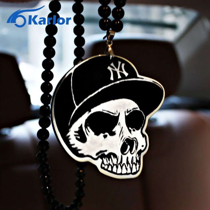 Skull New York Yankees NYY Car Auto Fashion Pendant JDM Hellaflush Rear View Mirror. Item Weight: 50gMain Material: ResinBrand Name: KarlorUnit Type: piecePackage Weight: 0.060kg (0.13lb.)Package Size: 25cm x 18cm x 1cm (9.84in x 7.09in x 0.39in)