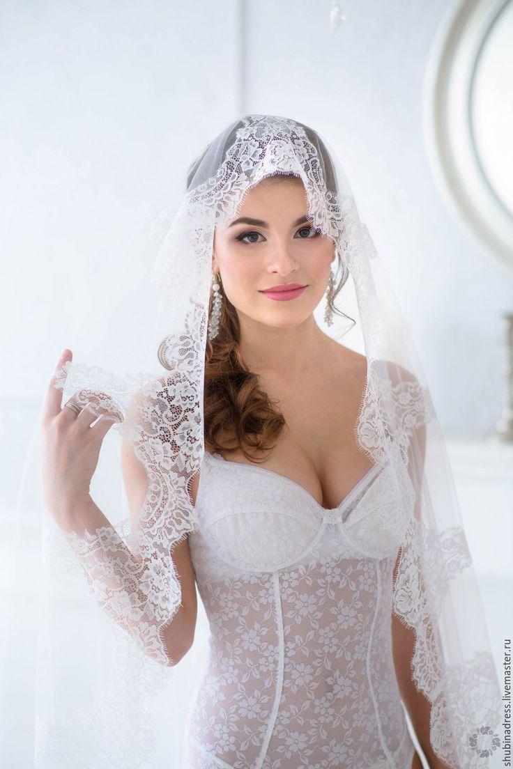 Wedding Veil | Фата Испанка – купить в интернет-магазине на Ярмарке Мастеров с доставкой