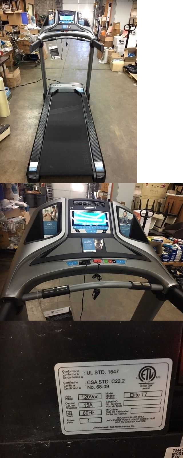 Treadmills 15280: Horizon Fitness Elite T7 Foldable Treadmill -> BUY IT NOW ONLY: $1100 on eBay!