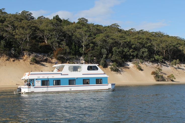 Pure Paradise, a beautiful 55 foot long houseboat with 5 bedrooms sleeping 12.  #coomerahouseboats   #Goldcoast  #houseboat  #holiday  #holidays  #boating  #fishing  #Houseboating  #Queensland  #Australia  #Angler  #Fish