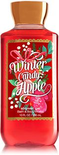 Winter Candy Apple Shower Gel - Signature Collection - Bath & Body Works