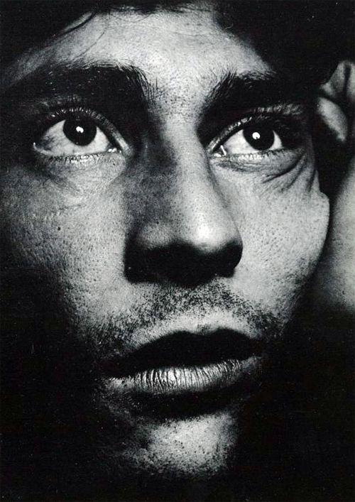 ♂ Black and white man portrait Cultura Inquieta - Ed van der Elsken