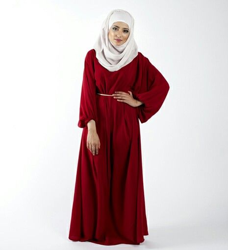 Flare red dress..