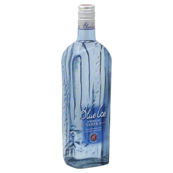 Leading Potato Vodka Brand Logo: Blue Ice