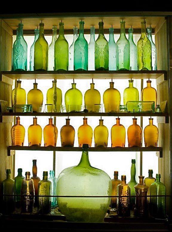Best 25 bottle display ideas on pinterest wine bottle for How to color wine bottles