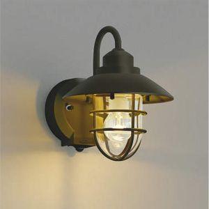 玄関照明 LED照明 マリンタイプポーチ灯 人感センサ付き